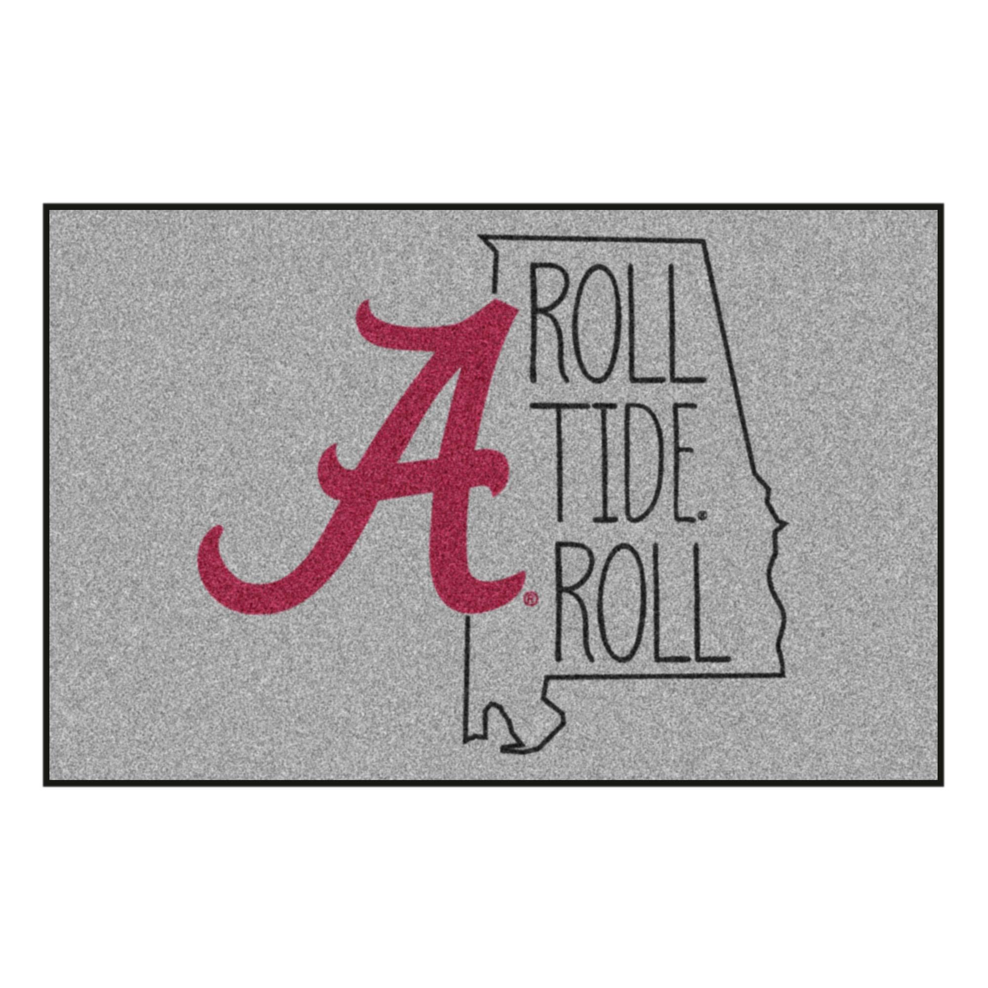 University Of Alabama Southern Style Rug 646648080143 Ebay