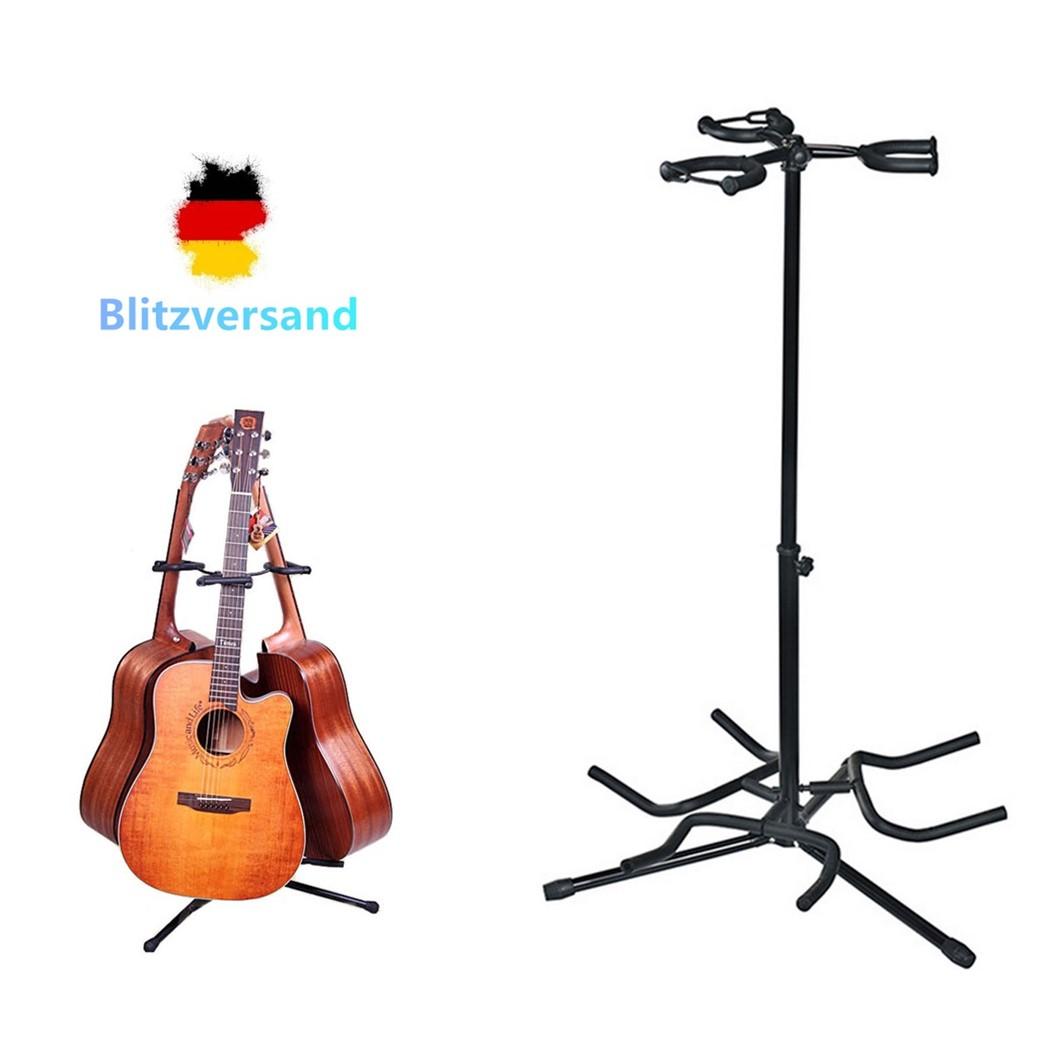 Gitarrenständer für Akustikgitarren Gitarrenstativ für Konzert /& Westerngitarren
