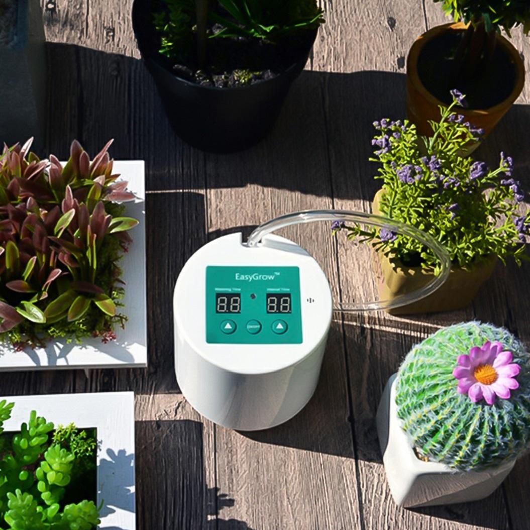 bewässerungssystem garten automatisch pflanzen wasserspender