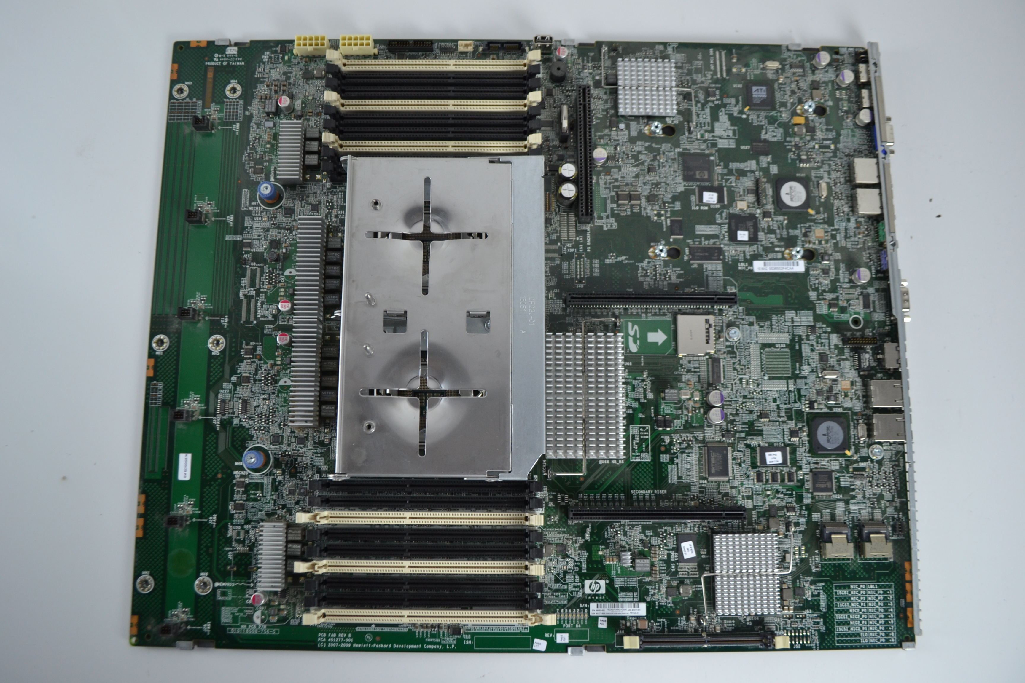 Details about HP ProLiant DL380 G6 Motherboard System Board 496069-001  451277-001