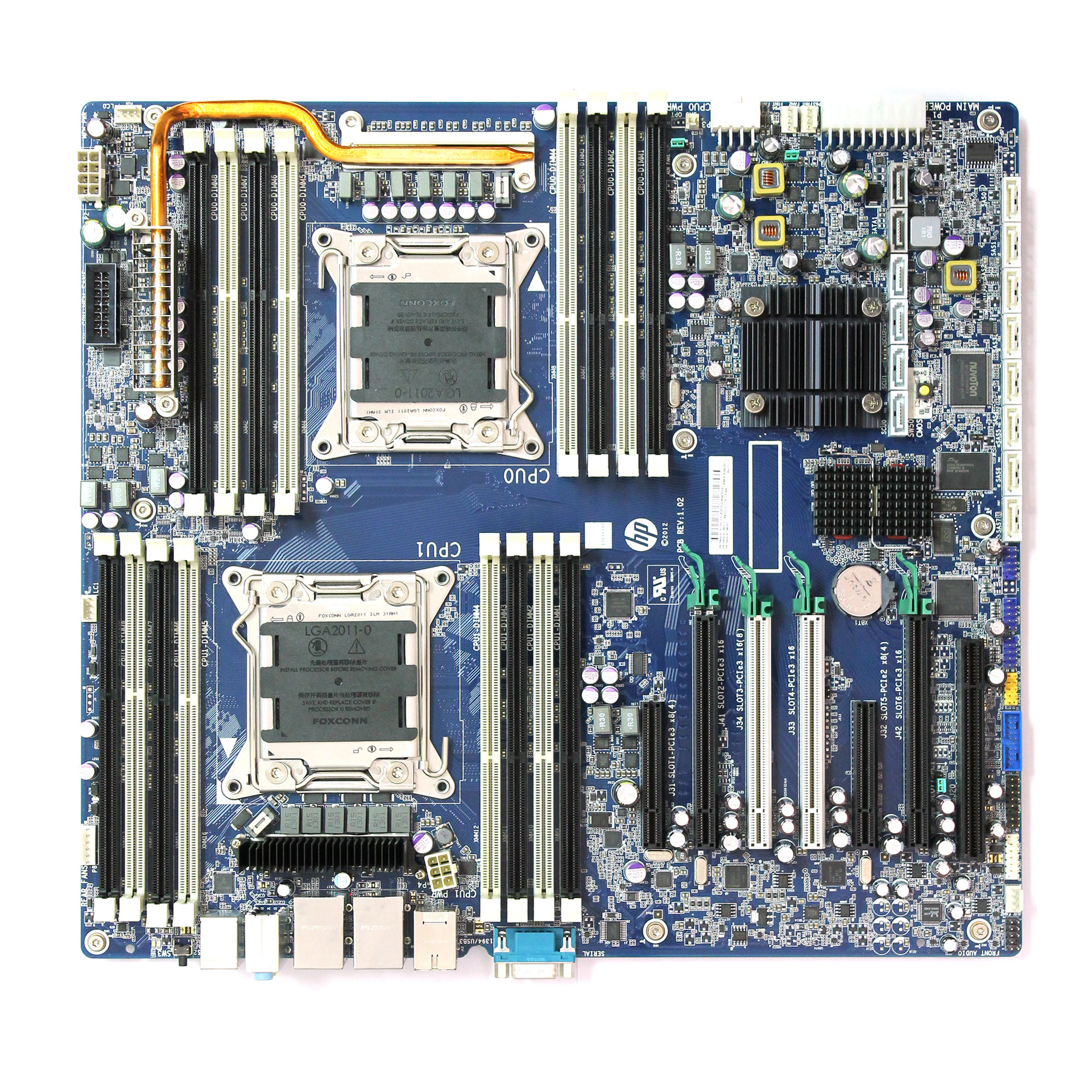 Hp Z820 System  Mother Board Sp  N  708610