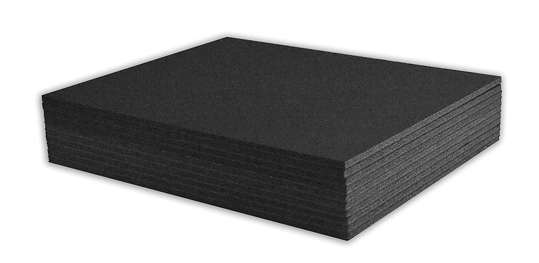 Pack of 10 11x14 3//16 White Foam Core Backings