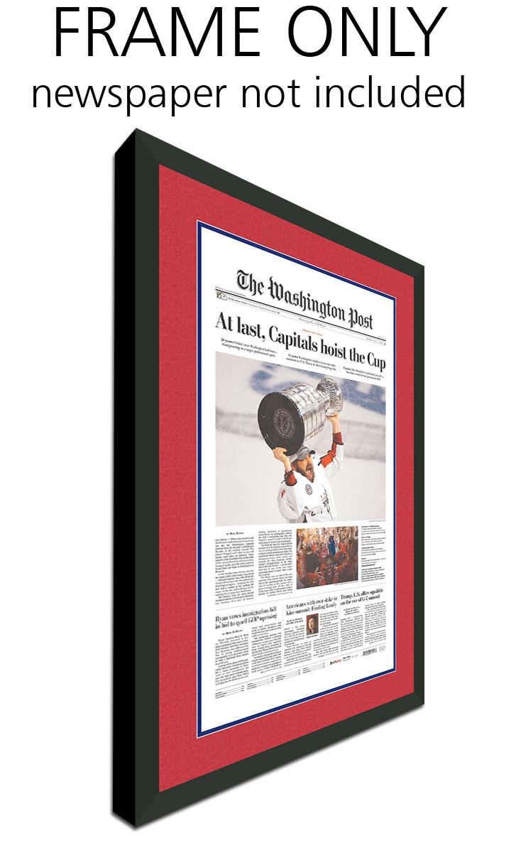 Washington Capitals Newspaper Frame | eBay