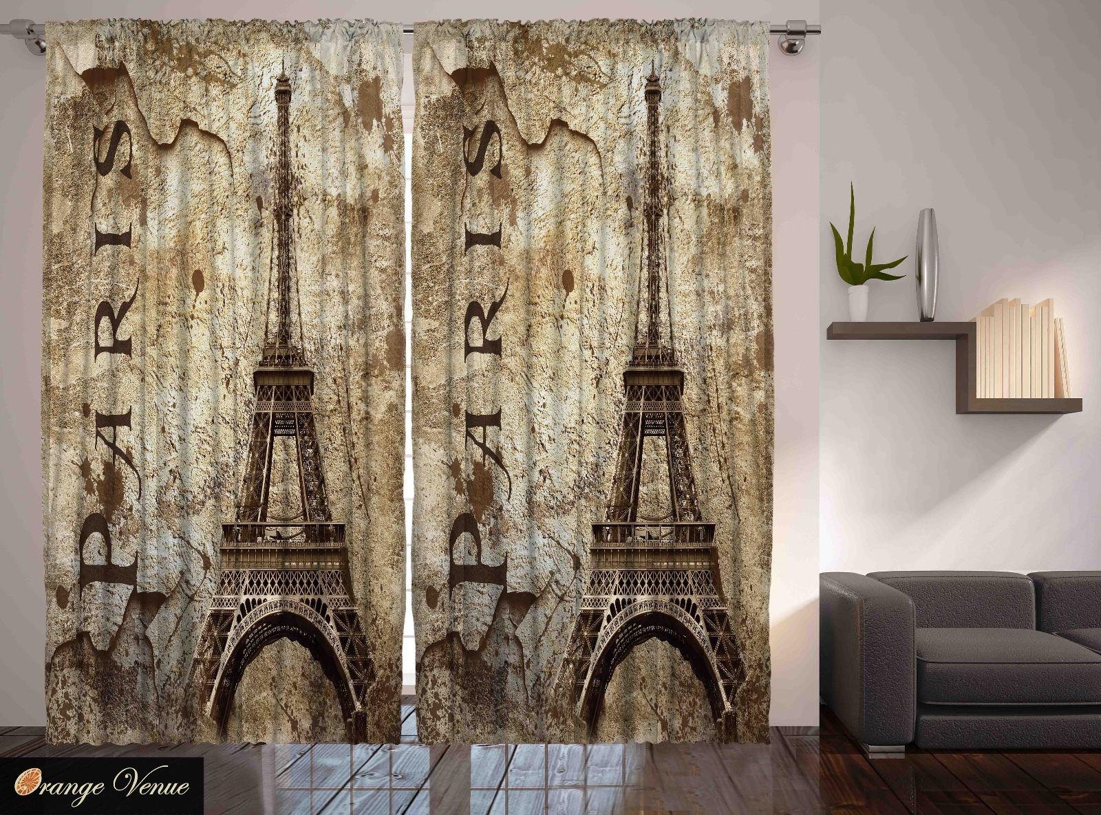 marvelous paris themed living room decor | Paris Decor Eiffel Tower Parisian Cityscape Themed Living ...