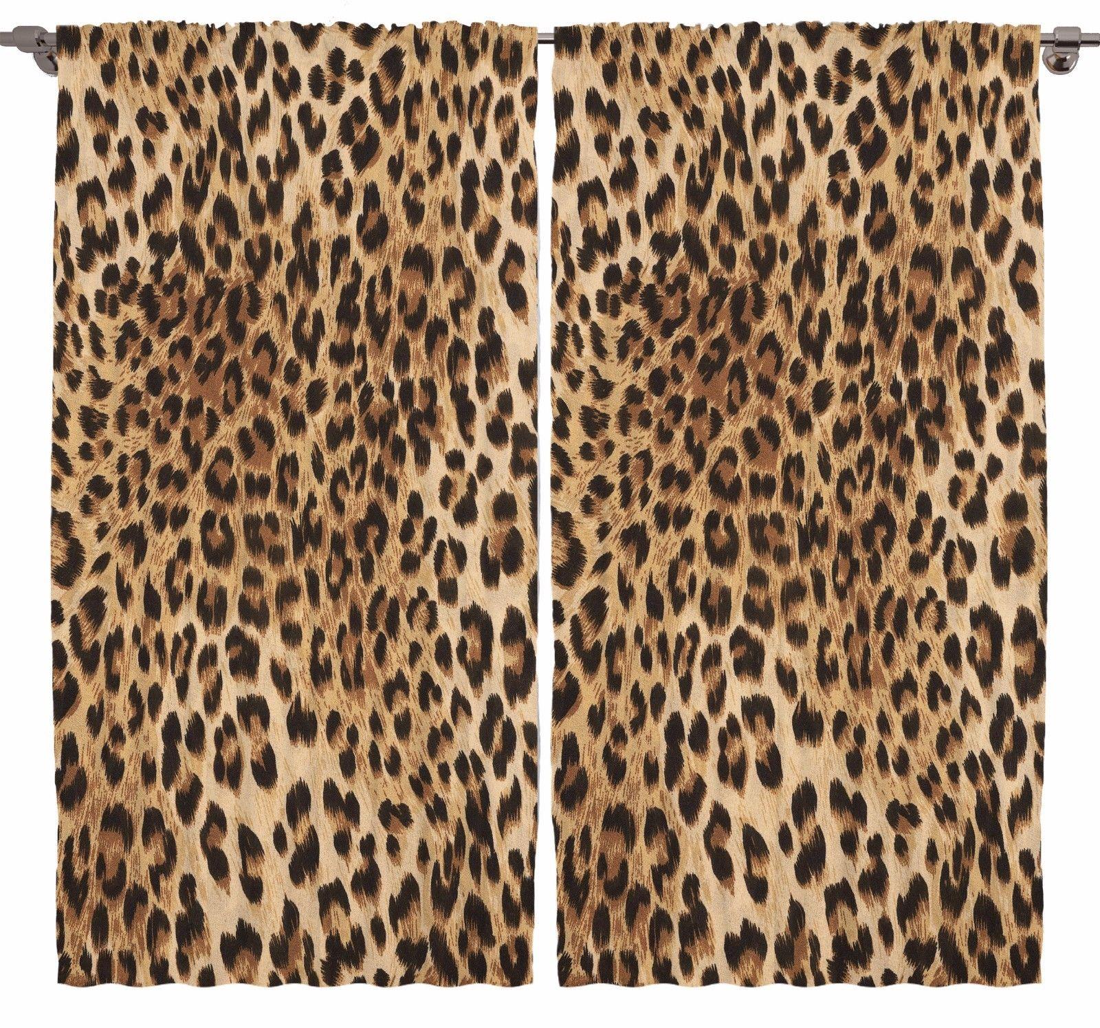 Leopard Tiger Zebra Print Bedroom Living Room Dining Kids