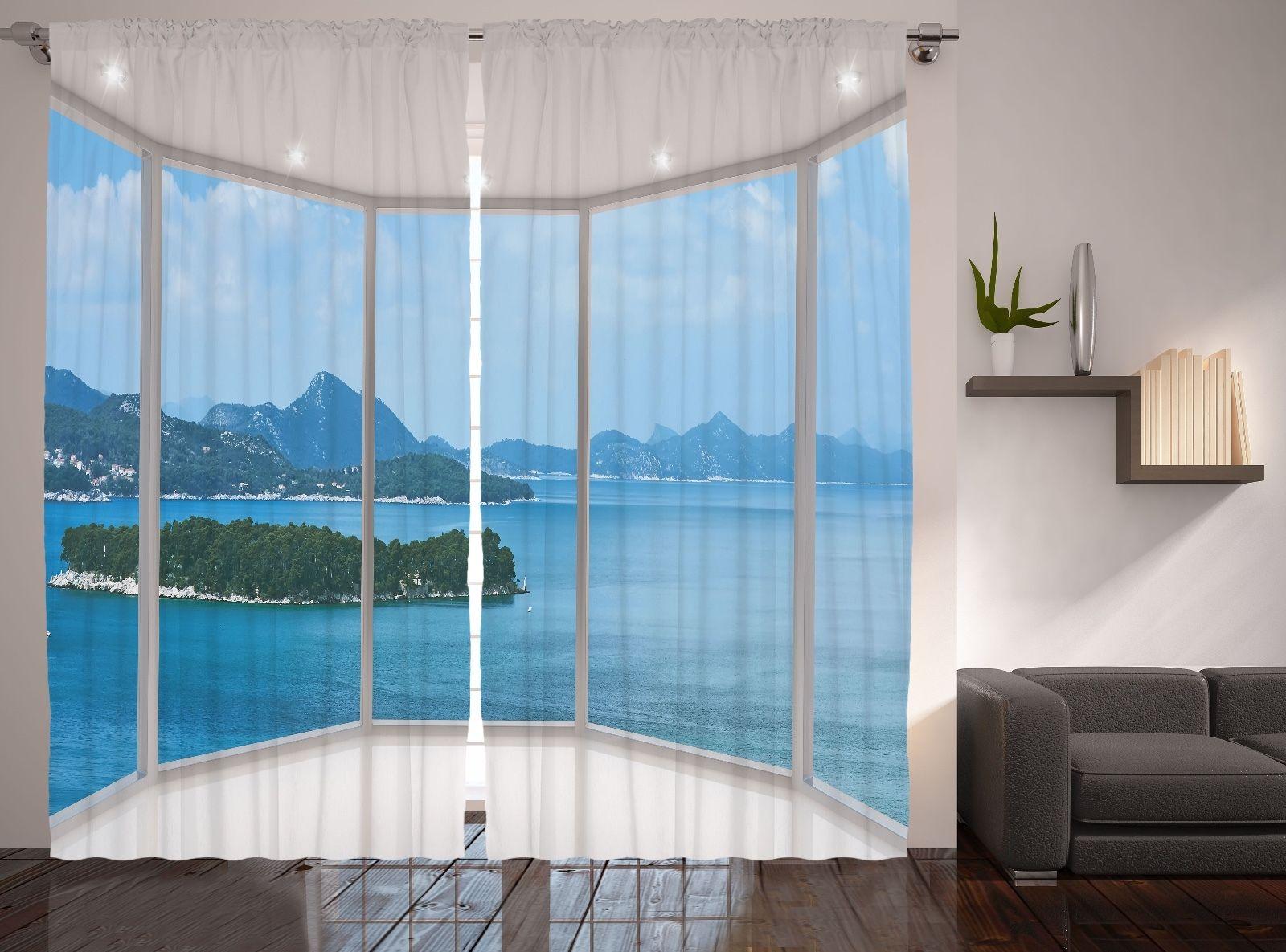 Window View Image Modern Home Decor Mediterranean Nature