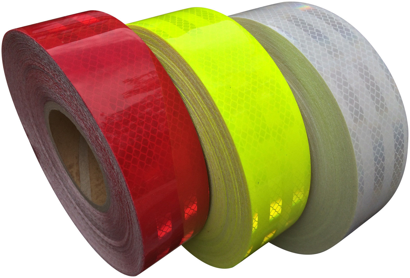50mm x 20M 100mm Golden Yellow High Quality High Intensity Self-Adhesive Reflective Tape 50mm