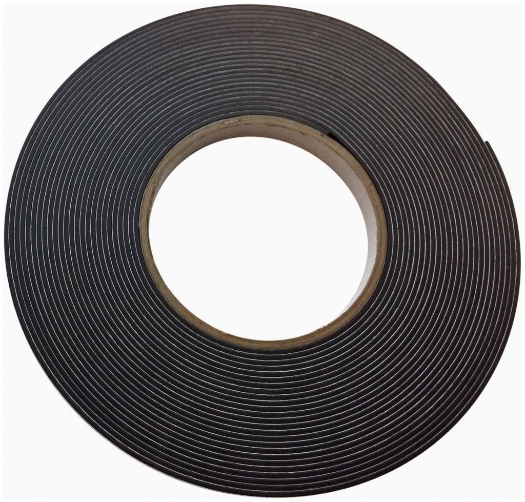 Magnetic Tape Self Adhesive Foam Backed Fridge Magnet strip 12.7mm wide 10m LONG
