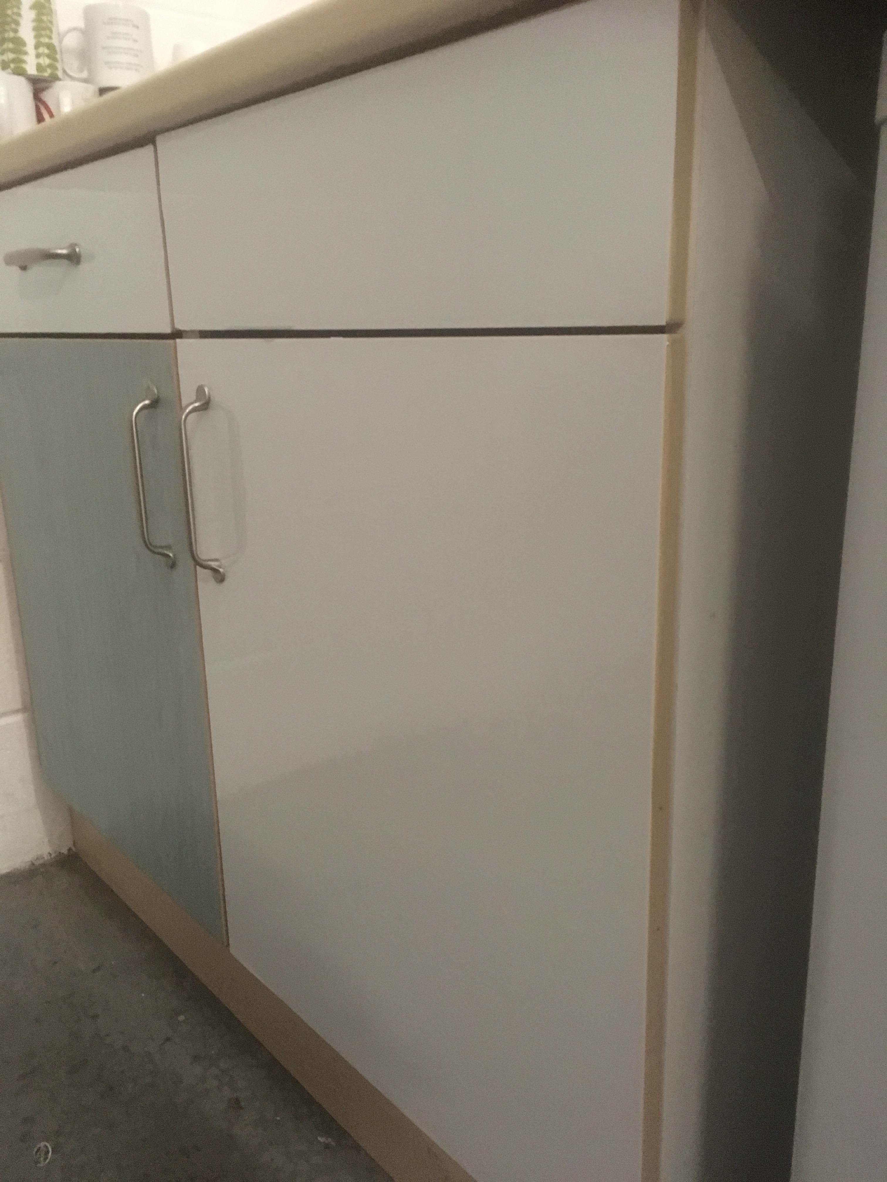 High Gloss & Matt Vinyl Wrap Kitchen Cabinet Bedroom ...