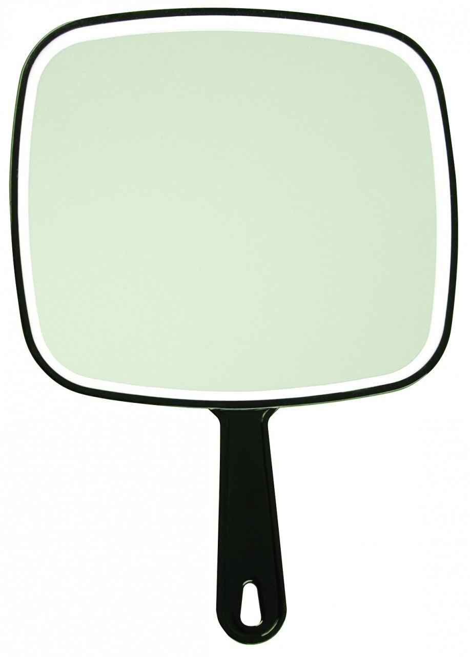 Luxor salon mirrors hand held paddle mirror 9 x 12 5 for Where to find mirrors