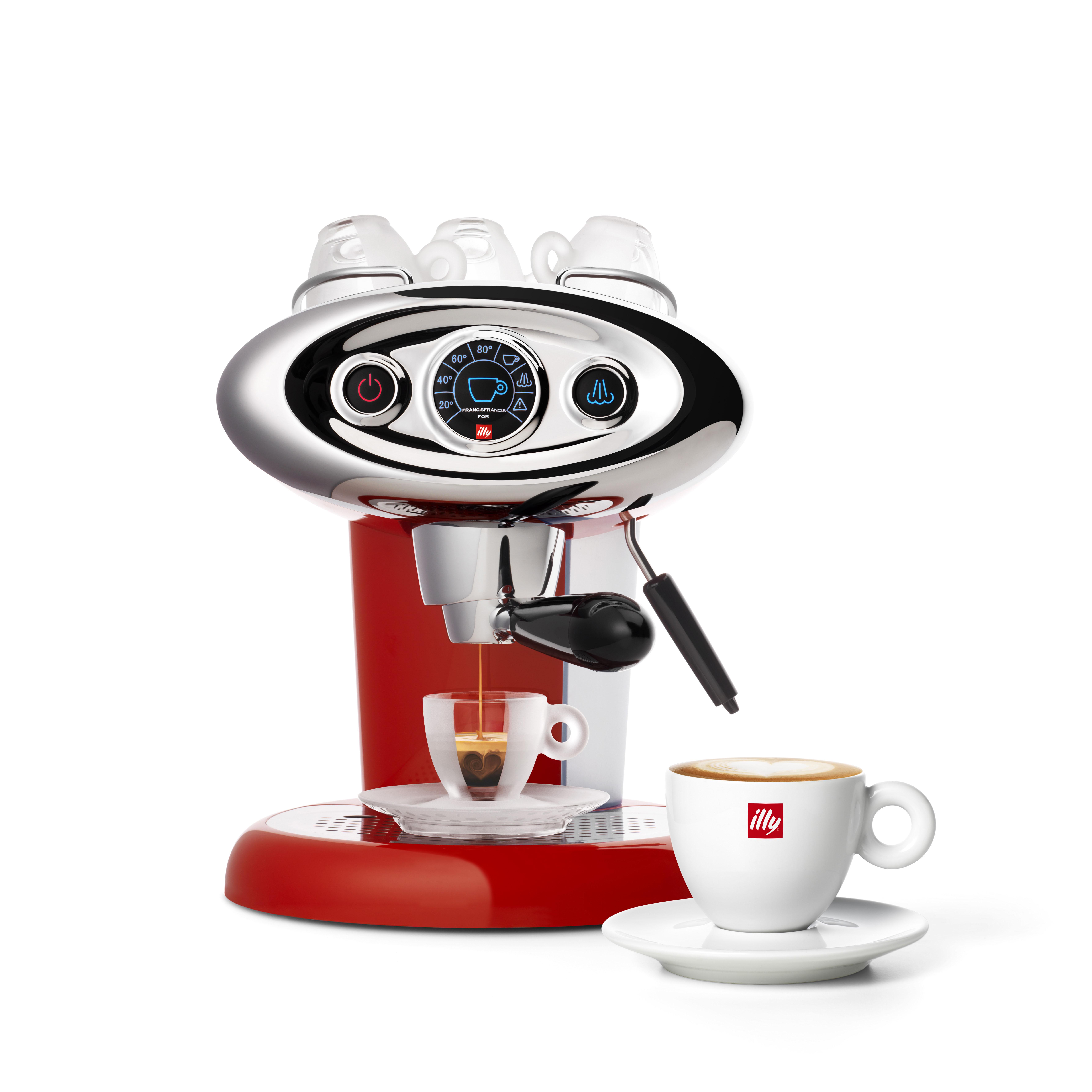 illy francis francis x7 1 iperespresso machine espresso maker 120 volt ebay. Black Bedroom Furniture Sets. Home Design Ideas