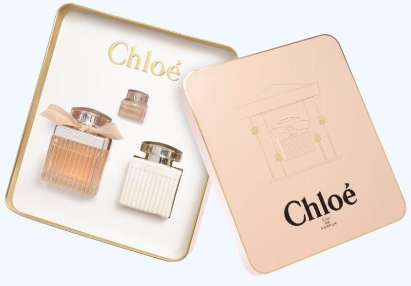 Chloe Signature Eau De Parfum 3 Pc Gift Set For Women New In Box