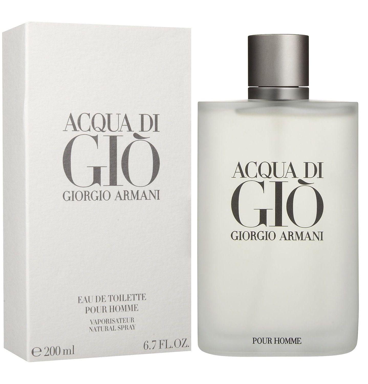 Details About Acqua Di Gio By Giorgio Armani Eau De Toilette Pour Homme 67 Oz 200 Ml Sealed
