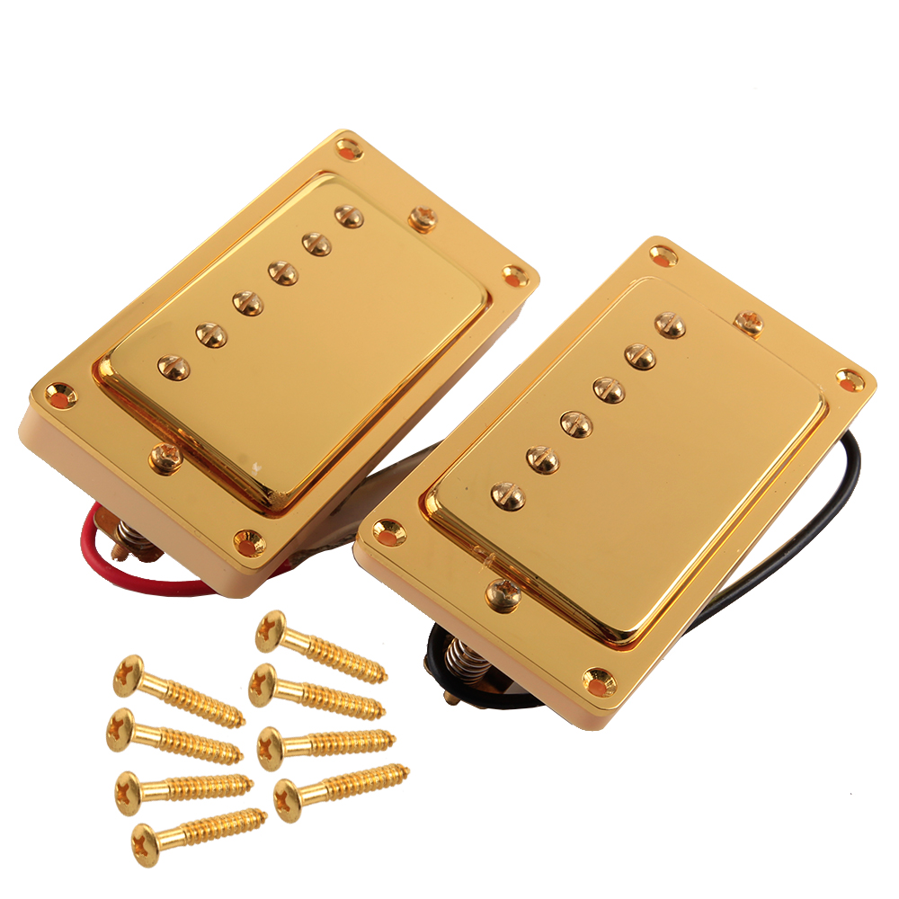 alnico humbucker pickup double coil pickups for gibson les paul guitar 50 52mm ebay. Black Bedroom Furniture Sets. Home Design Ideas