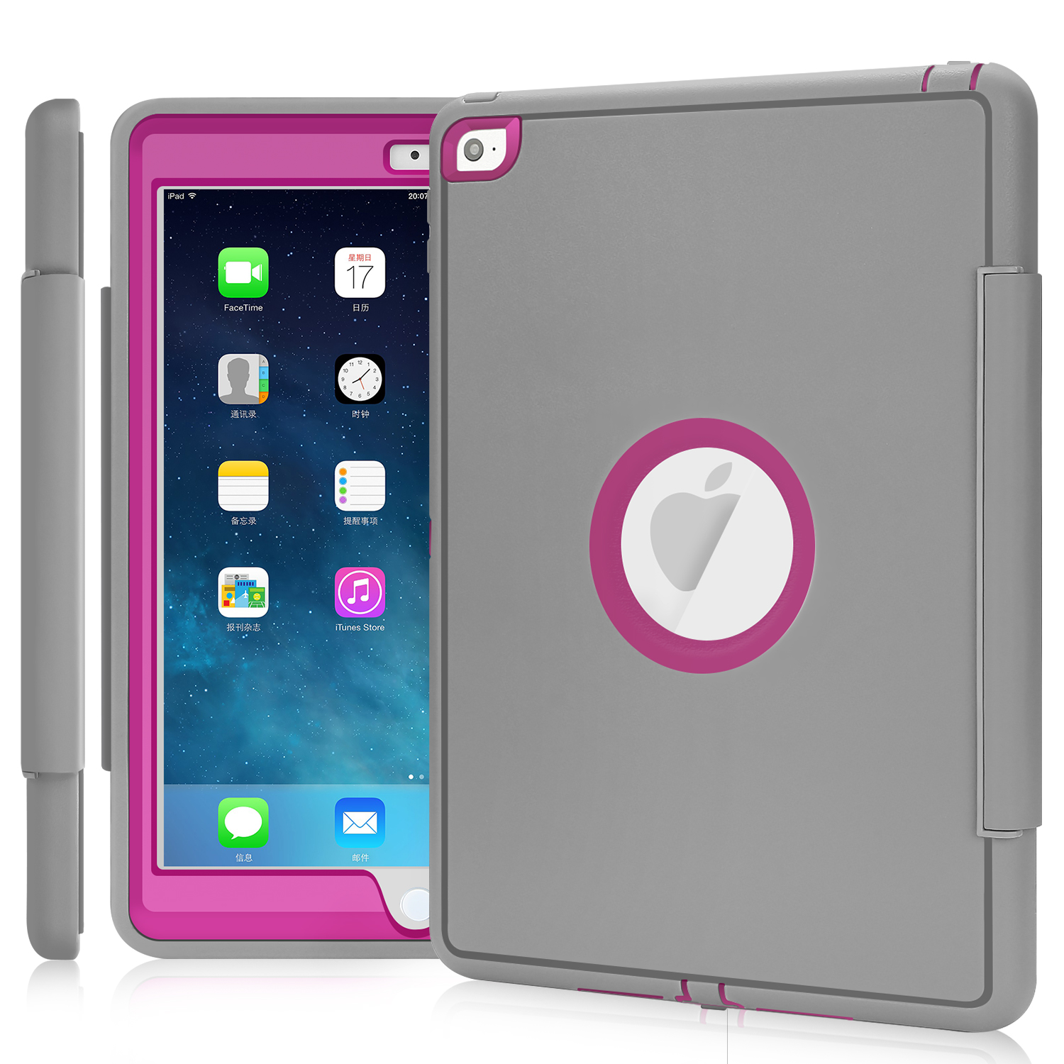kids smart shock proof heavy duty lot case cover for ipad mini ipad air pro ebay. Black Bedroom Furniture Sets. Home Design Ideas