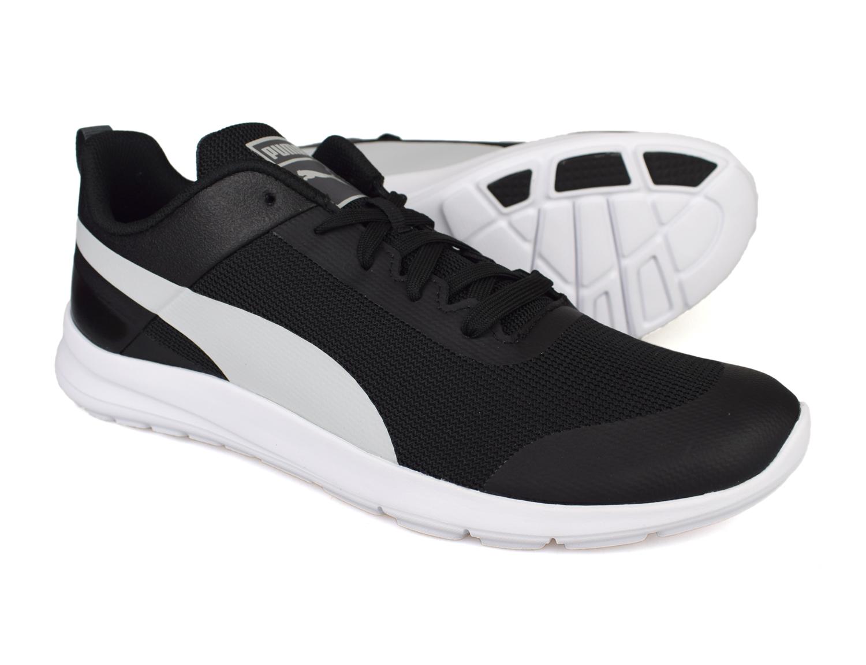 3ae605a70d7f Puma Trax Mens Black Running Trainers 362543-01