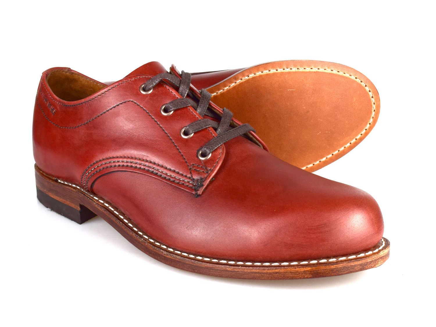 58765571b28 Details about Wolverine 1000 Miles Oxford Welted Horween Leather Brown Mens  Shoes RRP £395!