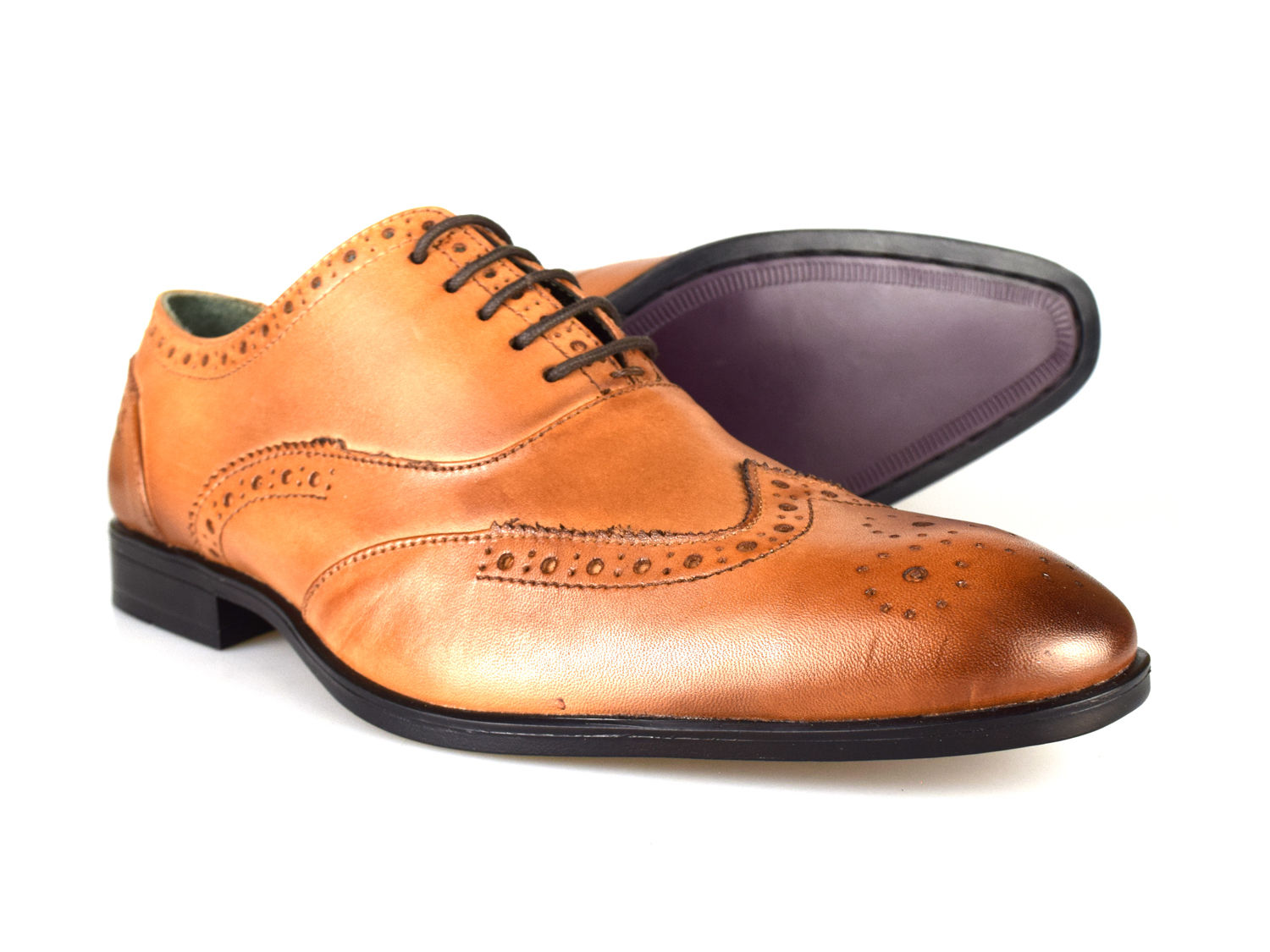 Brogues In Tan - Tan Silver Street London GvYjIs