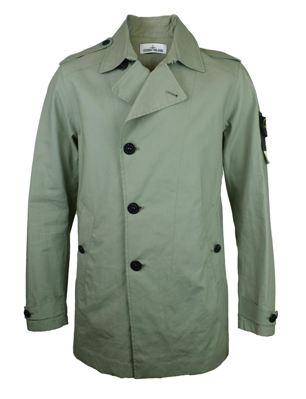 stone island green trench coat mac jacket bnwt rrp 650 ebay. Black Bedroom Furniture Sets. Home Design Ideas
