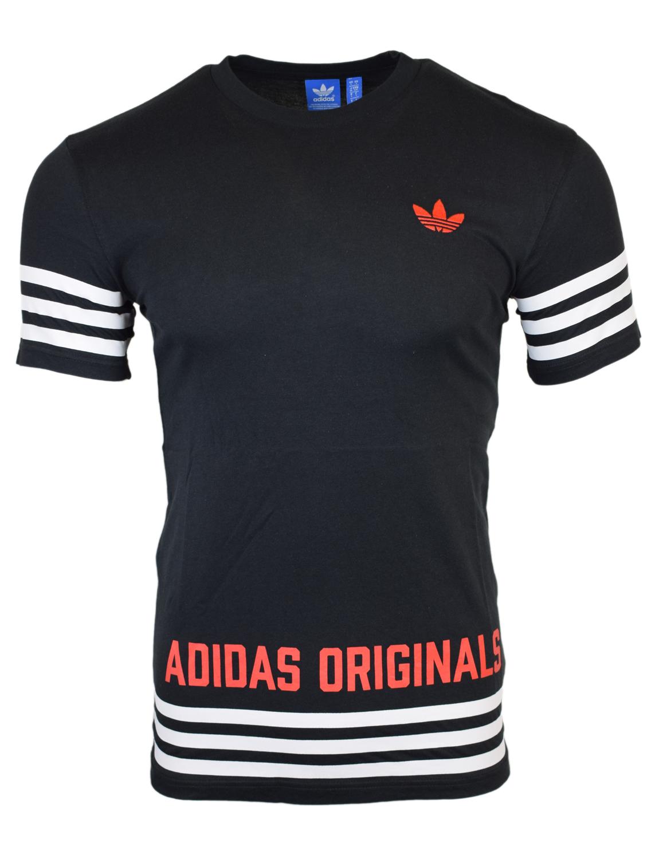 Adidas Originals Mens Black Street GRP T-Shirt AZ1141 Free UK P&P!