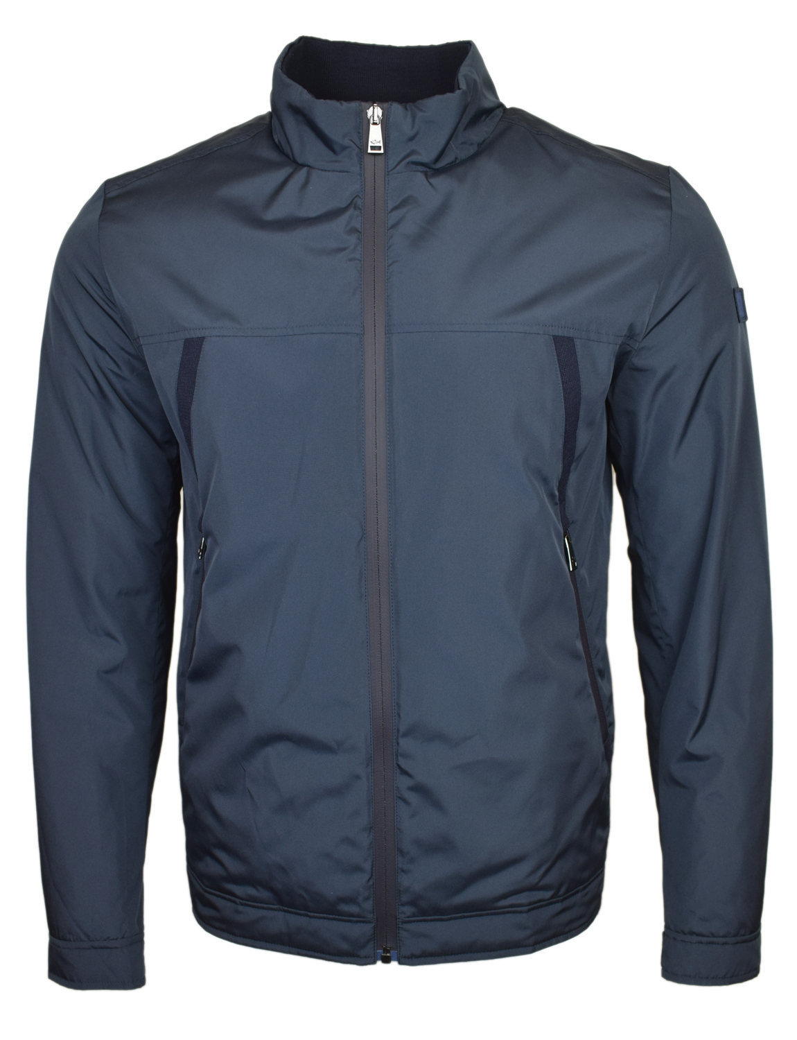 cfa770534d Dettagli su Paul & Shark Blu Navy Giacca Harrington BNWT
