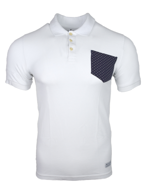 Adidas Originals Triangle Mens White Polo T Shirt Z33864 Ebay