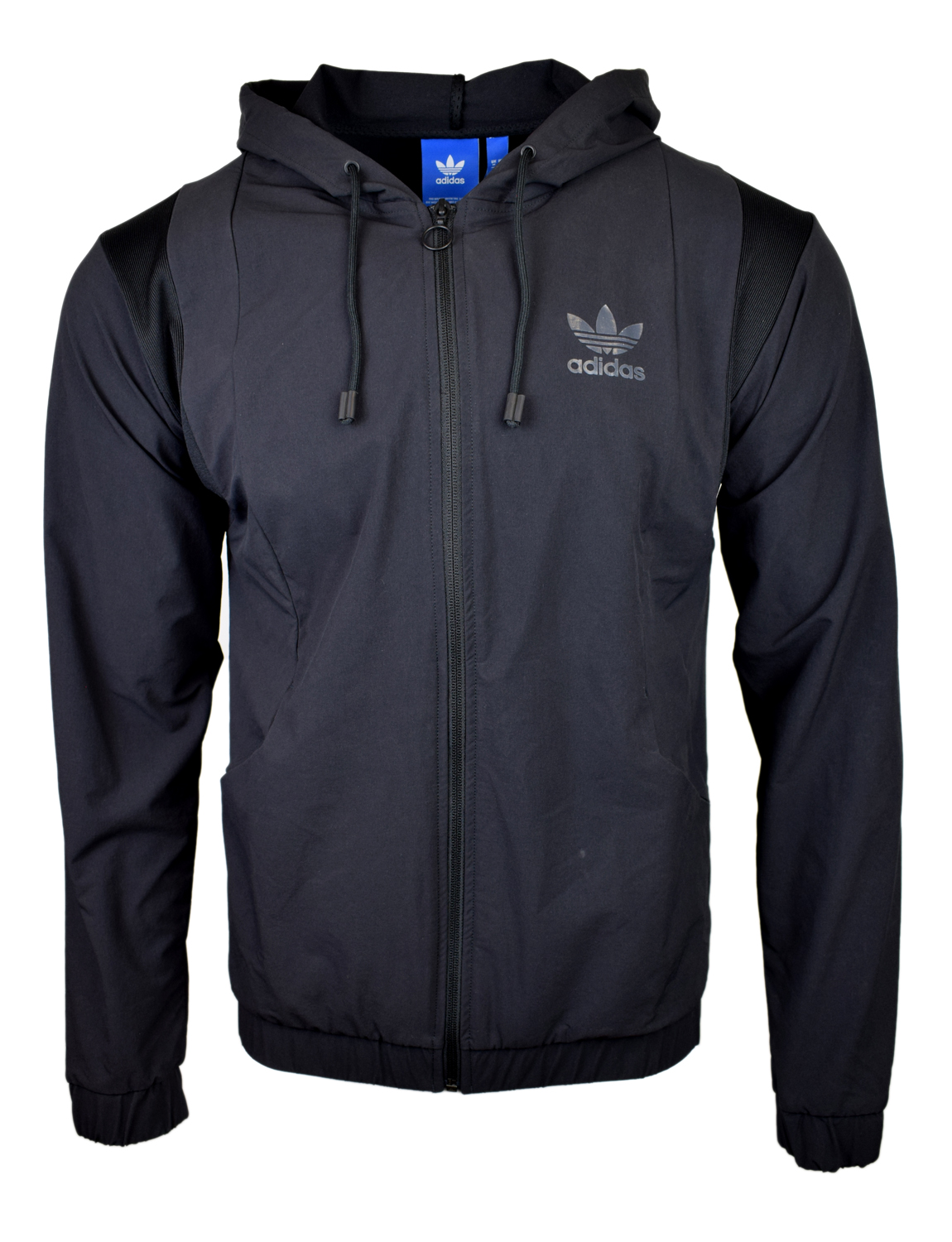 Details about ADIDAS ORIGINALS MENS PARKA UTILITY JACKET SUPERSTAR TREFOIL NAVY S AY9136