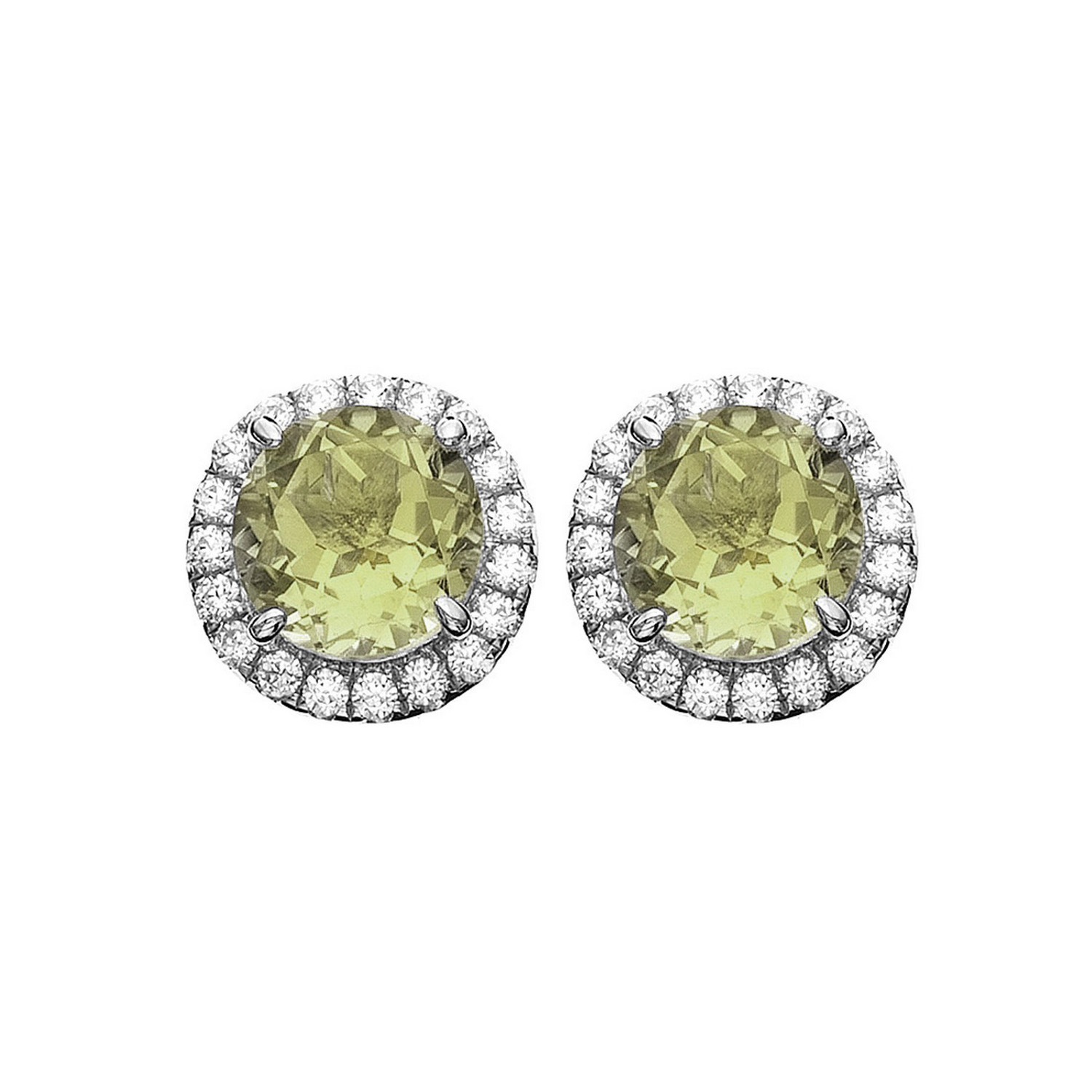 Platinum-Plated-Sterling-Silver-Round-Cut-Gemstone-Pave-CZ-Earring