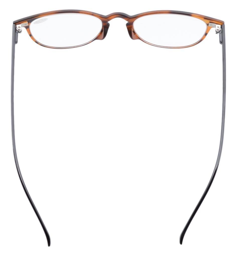6987332e3dc Round Full Coverage Ultrathin Flex Frame Reading Glasses Sun Readers ...