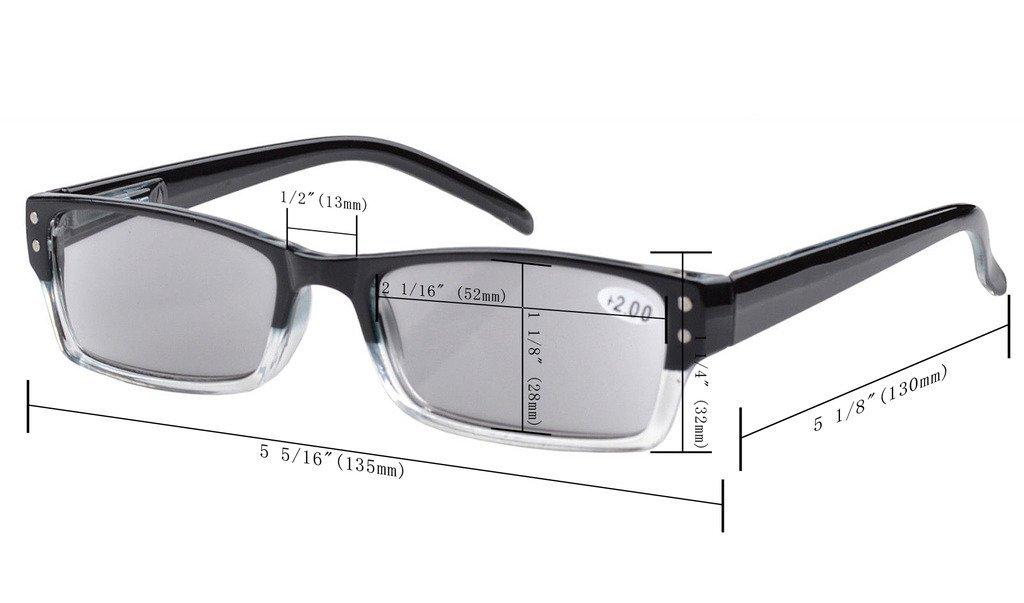 blue light blocking uv protection computer reading glasses