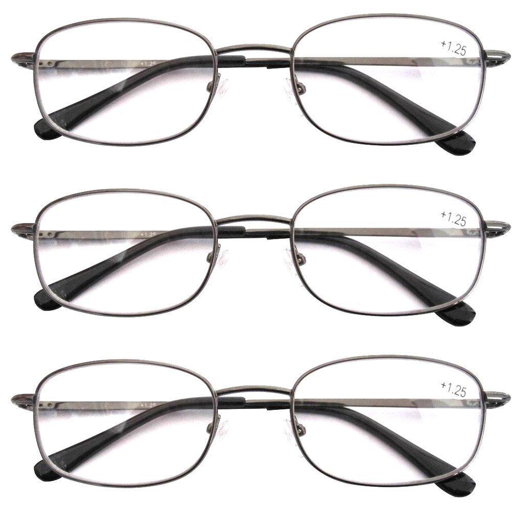 eyekepper hinged reading glasses 3 pair valupac