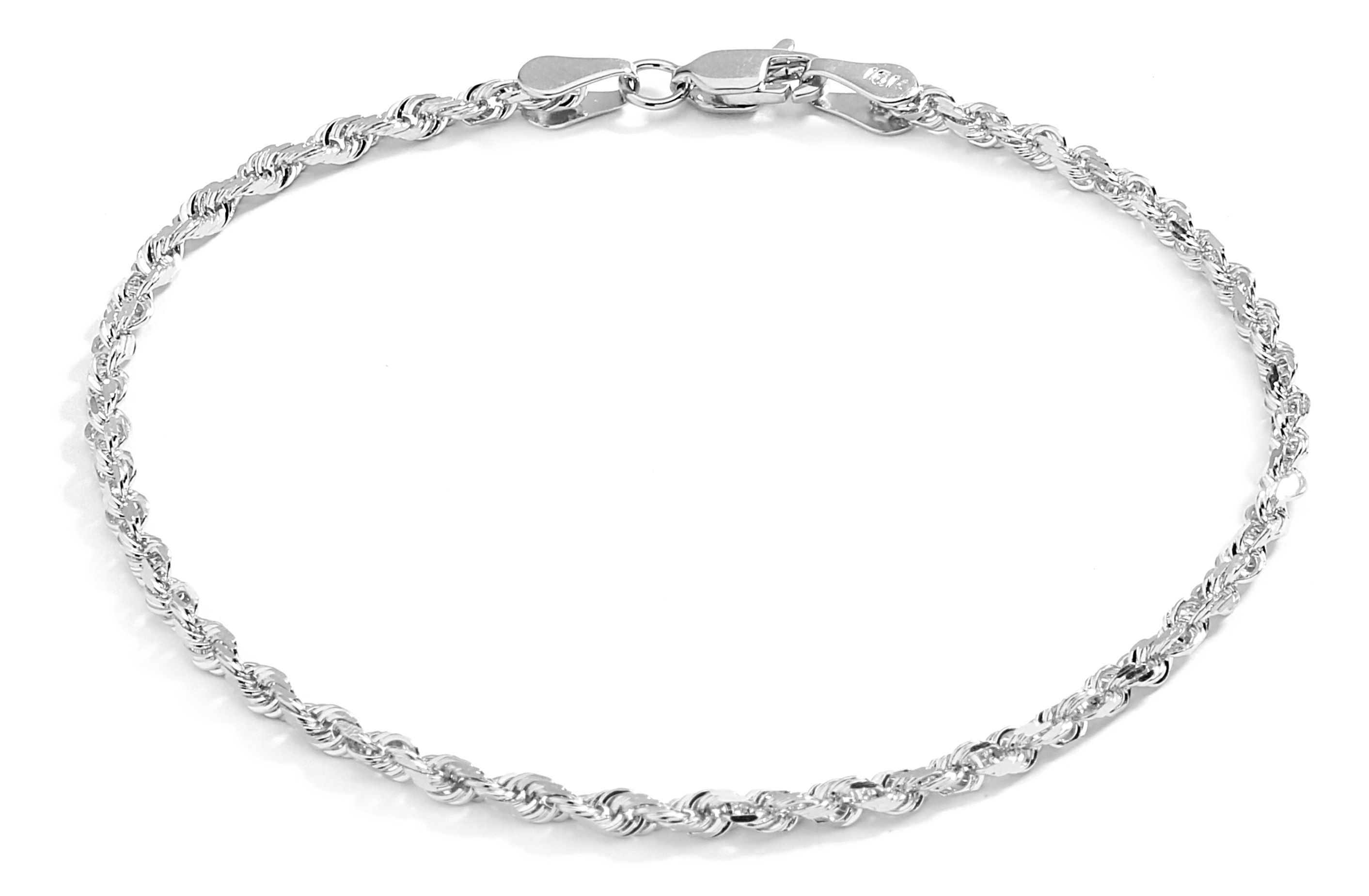 little silver bead gold jewellery finished anklet sterling with plated bracelet rose solid heart a