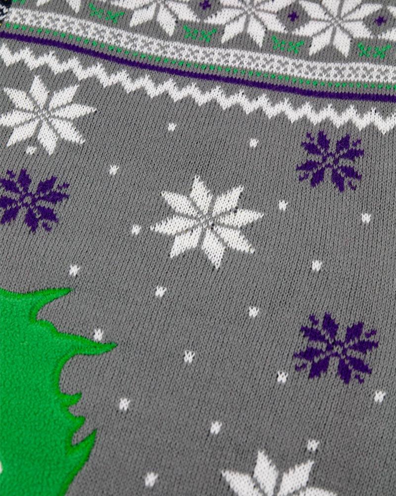 Official-Batman-vs-Joker-Christmas-Jumper-Ugly-Sweater thumbnail 13