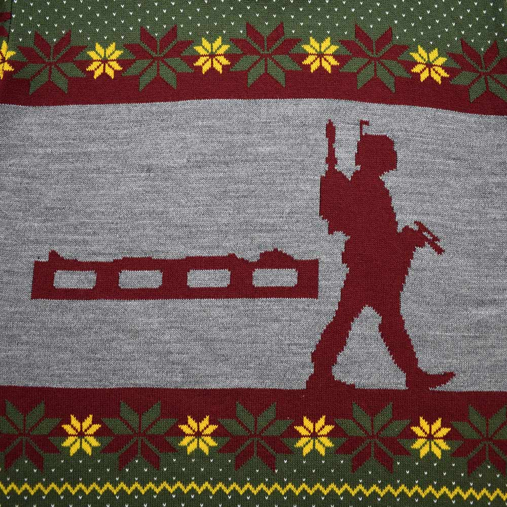 Official Star Wars Boba Fett Nordic Christmas Jumper//Ugly Sweater