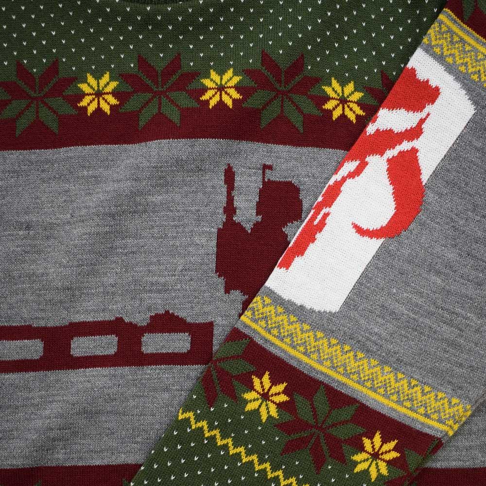 Official-Star-Wars-Boba-Fett-Nordic-Christmas-Jumper-Ugly-Sweater thumbnail 12