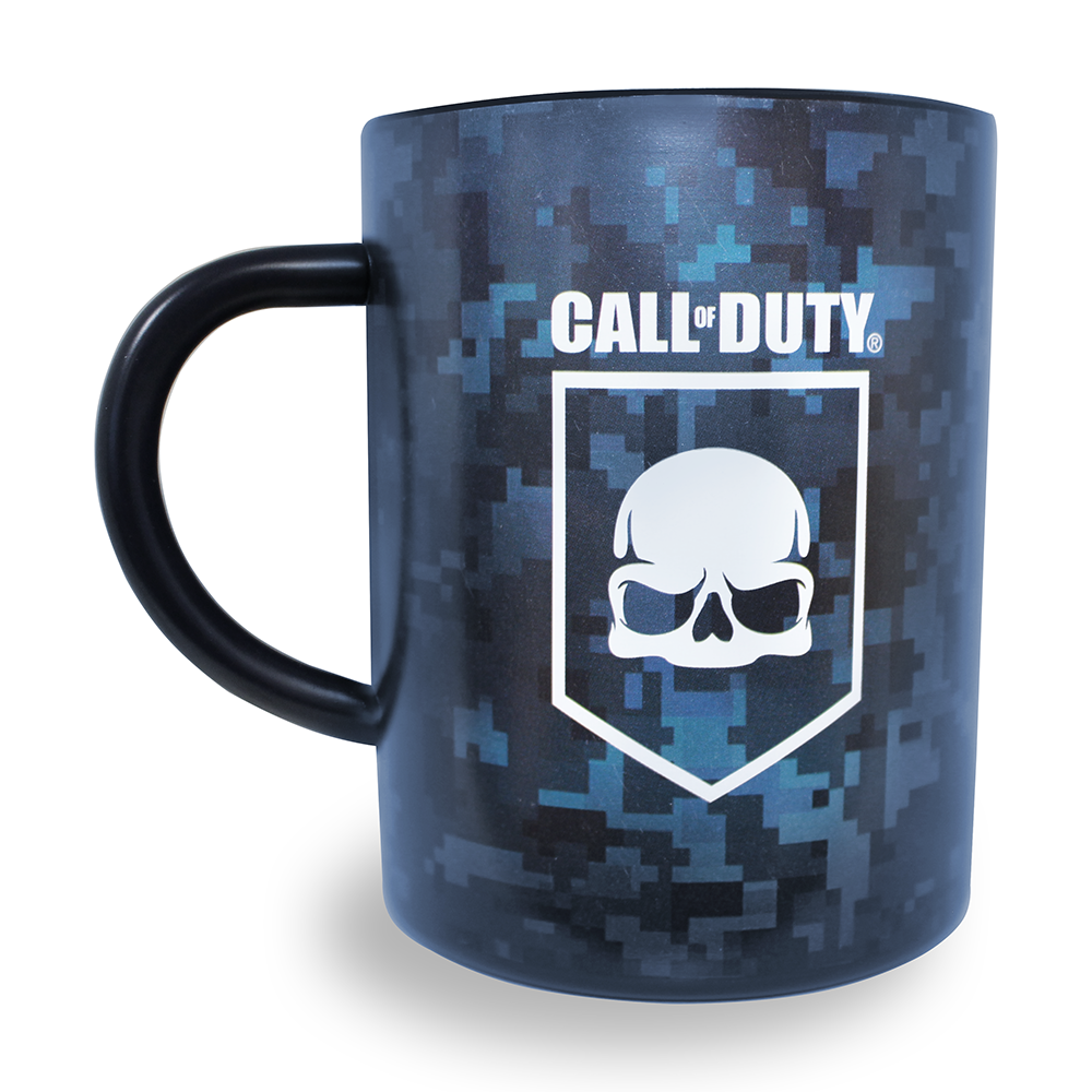 Official Call Of Duty Shield Steel Mug