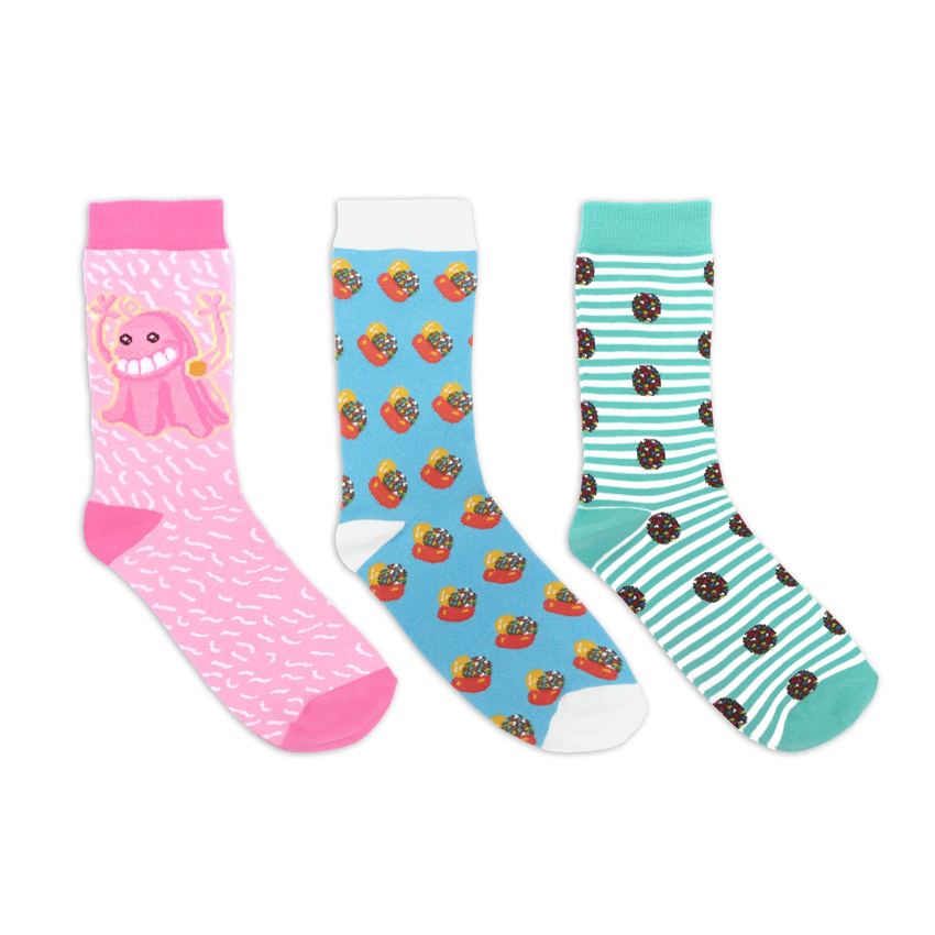 Official Candy Crush Cotton Socks (3 Pairs)