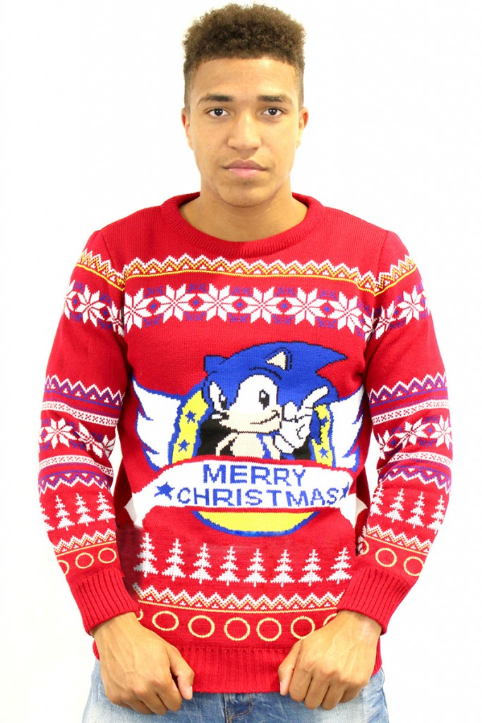 Classic Sonic Official Christmas Jumper - Small | eBay