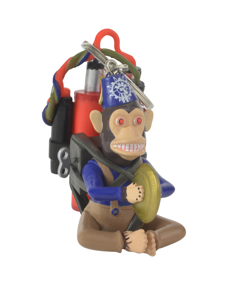 Official Call of Duty 3D Monkey Bomb Keyring   Keychain ... c8e82434ad76