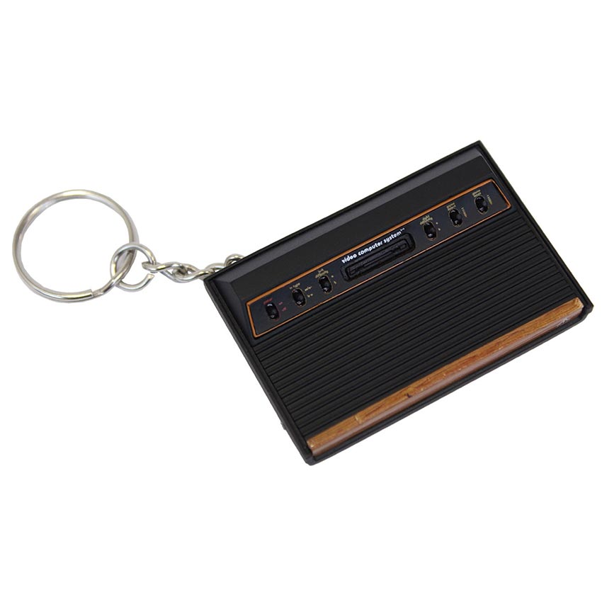 Atari 2600 Official Console Key Ring