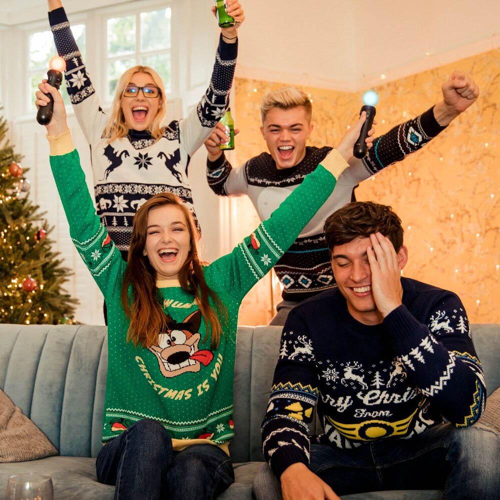 Official-Crash-Bandicoot-Christmas-Jumper-Ugly-Sweater thumbnail 10