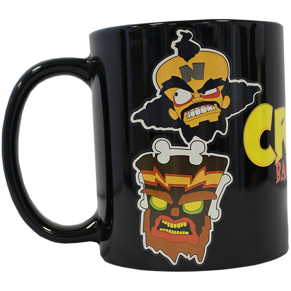 Official Crash Bandicoot Crash Heat Change Mug