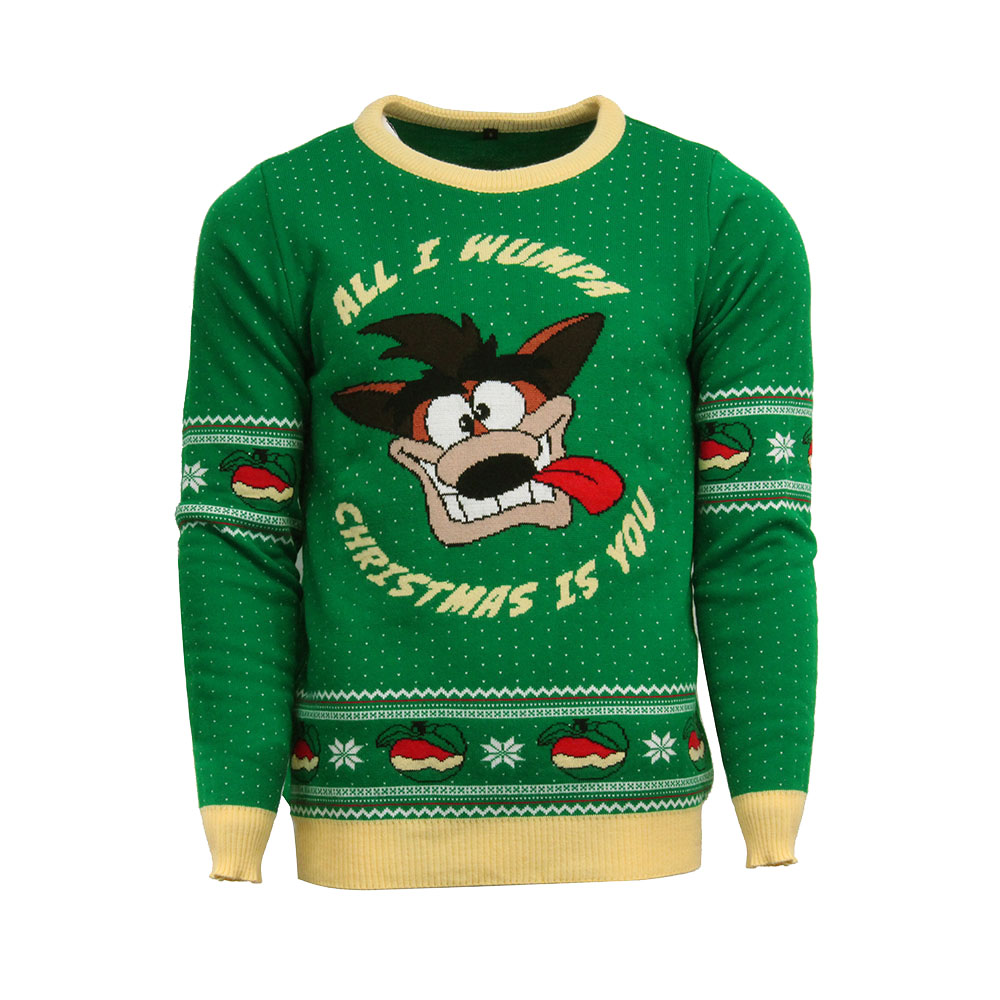 Official Crash Bandicoot Christmas Jumper / Ugly Sweater - Uk M / Us S