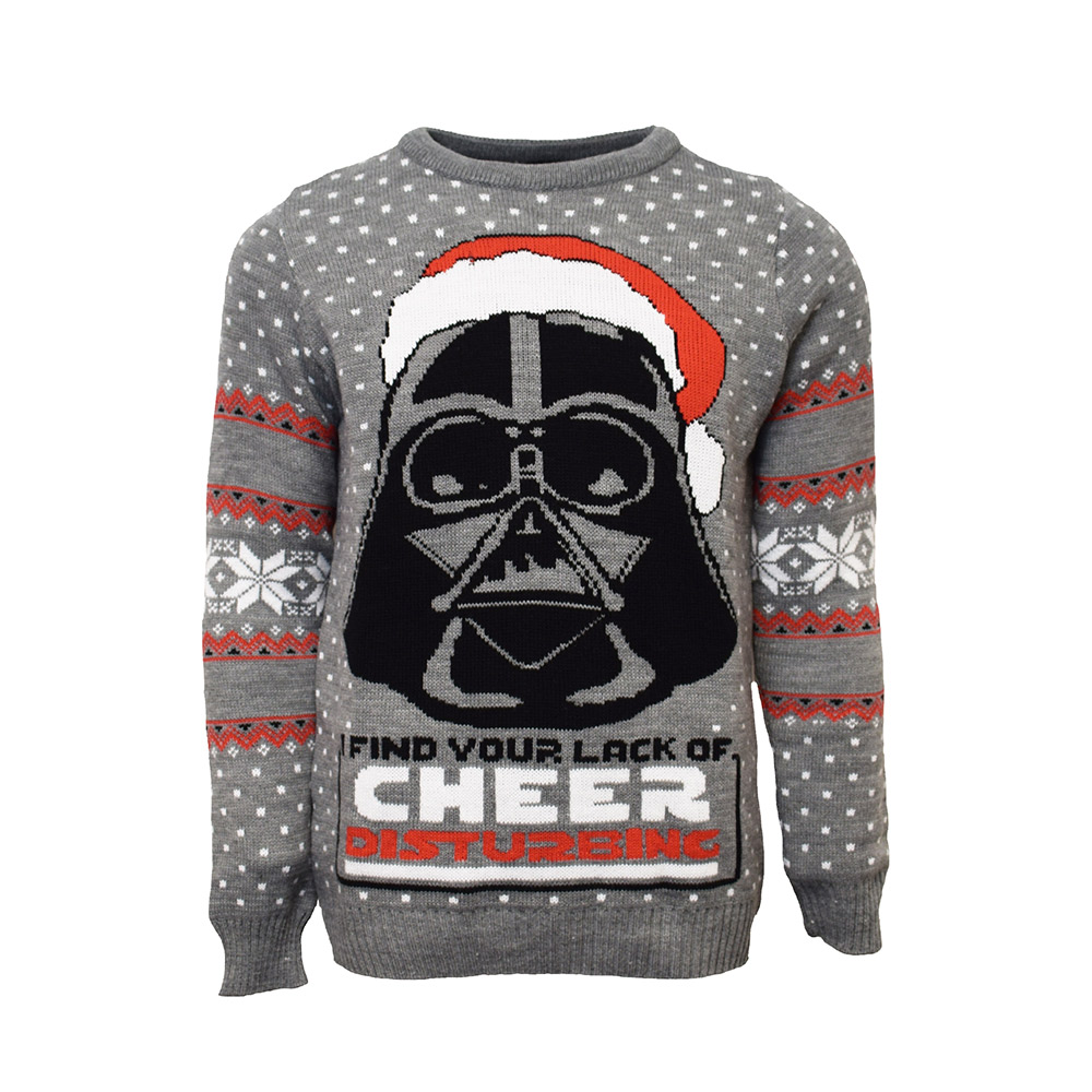 Official Darth Vader Star Wars Christmas Jumper / Ugly Sweater Uk Xs/us 2xs
