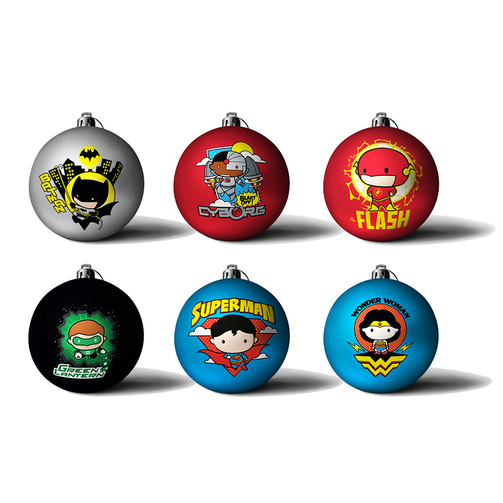 Official Dc Comics Justice League Baubles