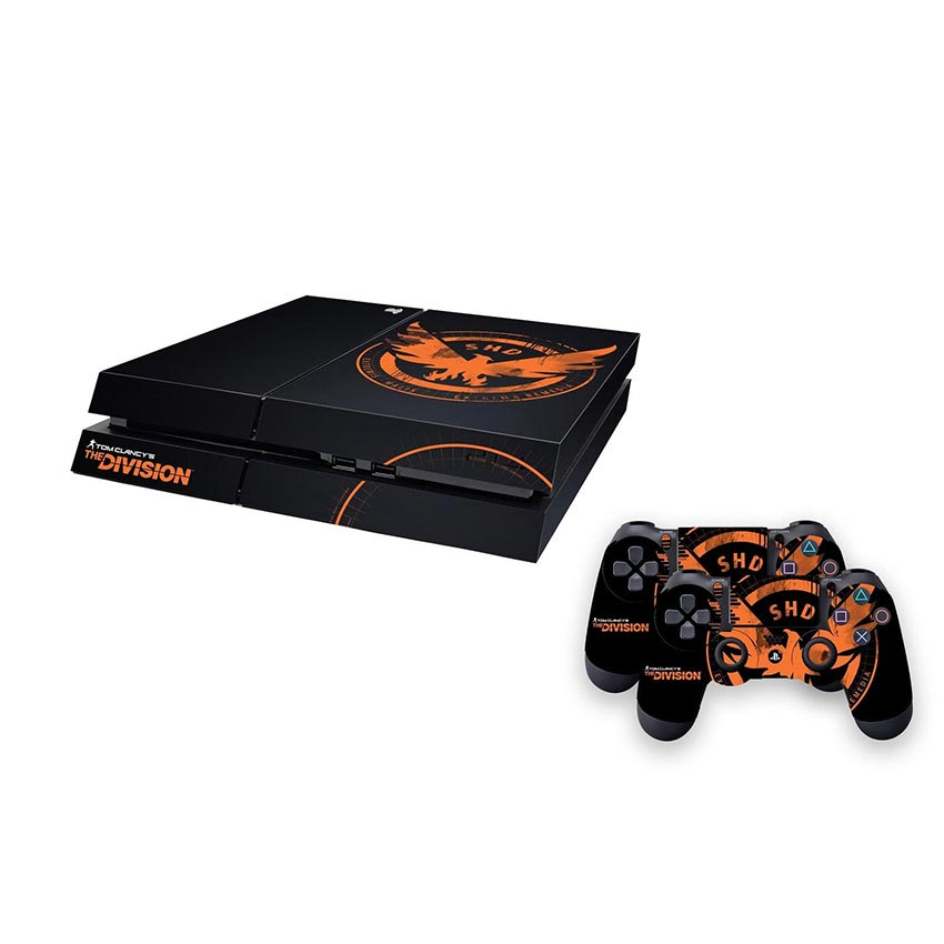 The Division Official Shd Emblem Ps4 Skin Pack