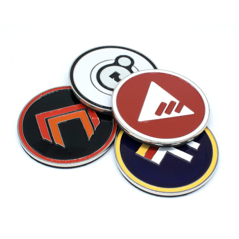 Official Destiny 2 Faction Fridge Magnets