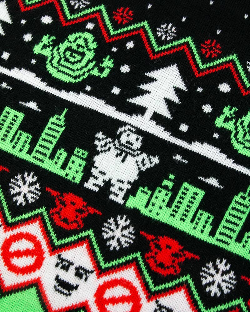 Official-Ghostbusters-Christmas-Jumper-Ugly-Sweater thumbnail 13