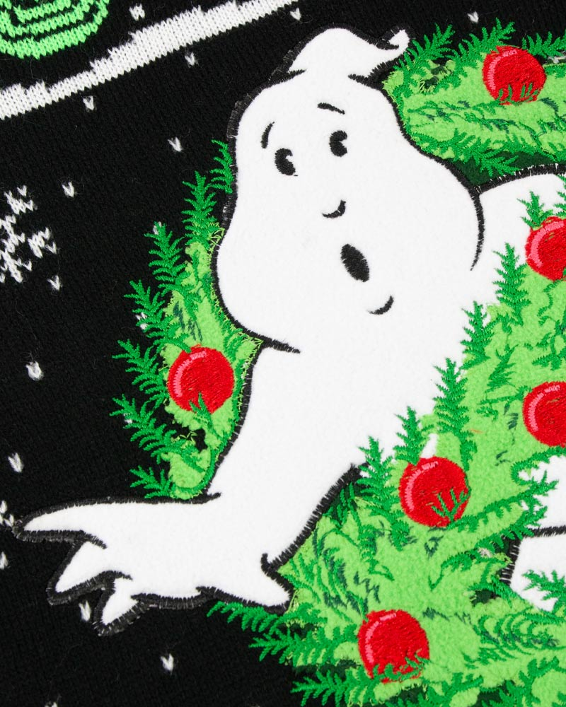 Official-Ghostbusters-Christmas-Jumper-Ugly-Sweater thumbnail 12
