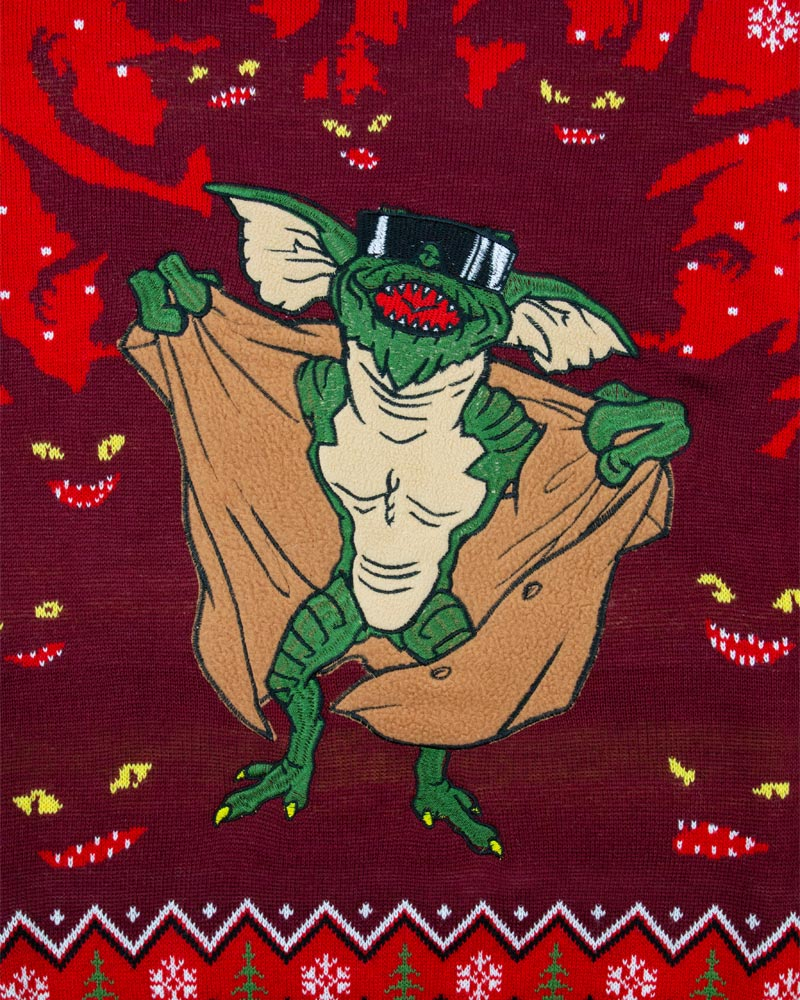 Official-Gremlins-Christmas-Jumper-Ugly-Sweater thumbnail 38